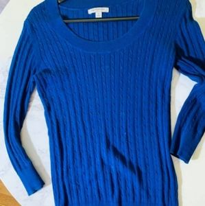 Banana Republic Blue Knit Sweater XS